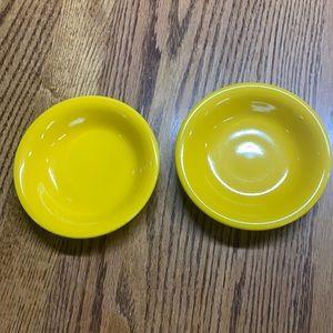 2 Fiesta fruit bowls